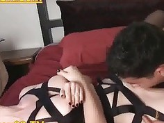 Cuckold Excited Free Femdom HD Porn Video