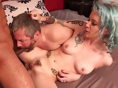 Jeze Belle fucks a BBC in front of her cuckold