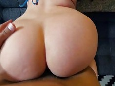 Sweet lovely chick Harley Jade loves to ride cock