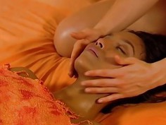 A Relaxing Massage By Lesbian Partners