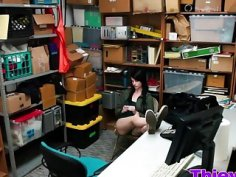 Alex Harper gets punished in office for stealing
