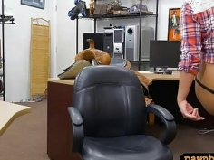 Country girl anal pounded by pawn dude at the pawnshop