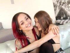 Rebel's First Lesbian Anal