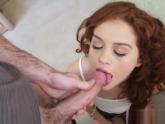 Sweet Petite Alice Green Gets Banged