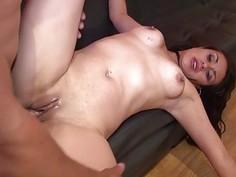 Lesbian babes organize stunning pussylicking