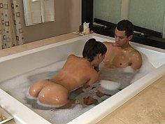 Indonesian massage girl