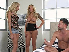 Catching her BF with her stepmom