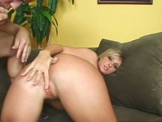 Fat strong cock is a kind of lollipop for voracious Carmen Kinsley