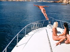 Ibiza boat sex party