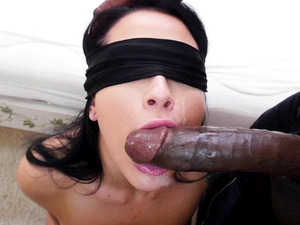 Blindfolded Coed Gets Strapon Sex By Femdom Redhead
