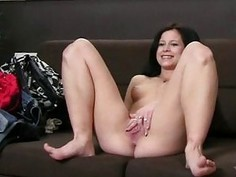 Beauties share a massive jock during threesome