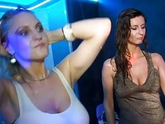 Delightsome pussies gratifying with naughty honeys