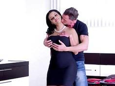 Sexy Wife Latina Mary Jean in Threesome