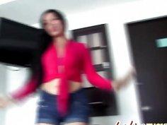 Amazing Latina Marilin Gives POV Blowjob And Gets Fucked Hard