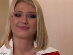 Attractive nurse Lucy Heart is luring you to fuck her