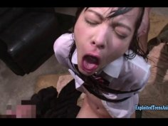 Jav Idol Abe Mikako Bound In Jail Gets Rough Sex