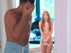 Kimmy Granger masturbating with the electric toothbrush