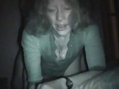Slutty wife cheating in a motel room