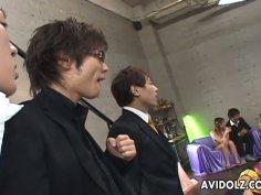 Seductive Asian chick Ako Ikeuchi gonna have a splendid fuck