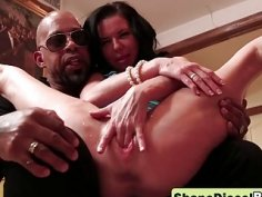 A horny Shane Diesel fucks Veronica Avluv with his large penis and makes her squirt